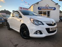 USED 2013 63 VAUXHALL CORSA 1.6 VXR 3d 189 BHP Low Miles, Parking Sensors, Recaro Sports Seats!