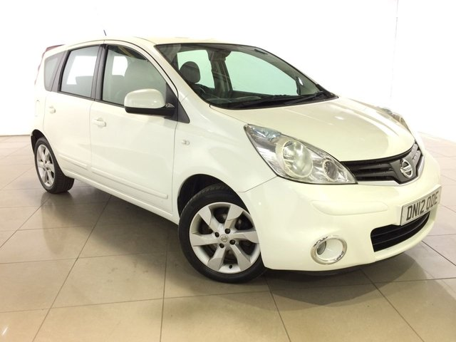 View our 2012 12 NISSAN NOTE 1.5 ACENTA DCI 5d 89 BHP
