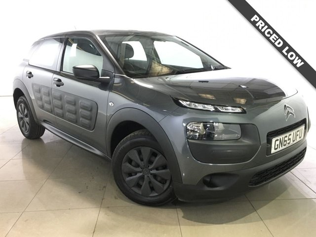 View our 2015 65 CITROEN C4 CACTUS 1.2 PURETECH TOUCH 5d 74 BHP