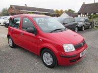 2010 FIAT PANDA 1.1 ACTIVE ECO 5DR FSH £2895.00