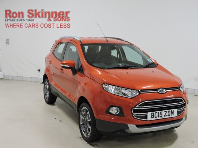 View our 2015 15 FORD ECOSPORT 1.0 TITANIUM 5d 124 BHP