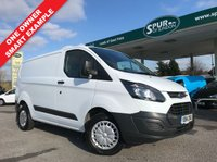 USED 2014 14 FORD TRANSIT CUSTOM 2.2 290 ECONETIC LR P/V 1d 100 BHP One Owner, Finance Arranged, Bluetooth Phone Connectivity.