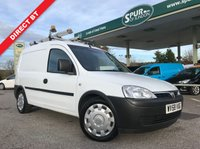 USED 2008 58 VAUXHALL COMBO VAN 1.2 2000 CDTI 1d 73 BHP Direct BT, Service History, BT Roof Rack, One Owner, Finance Arranged.