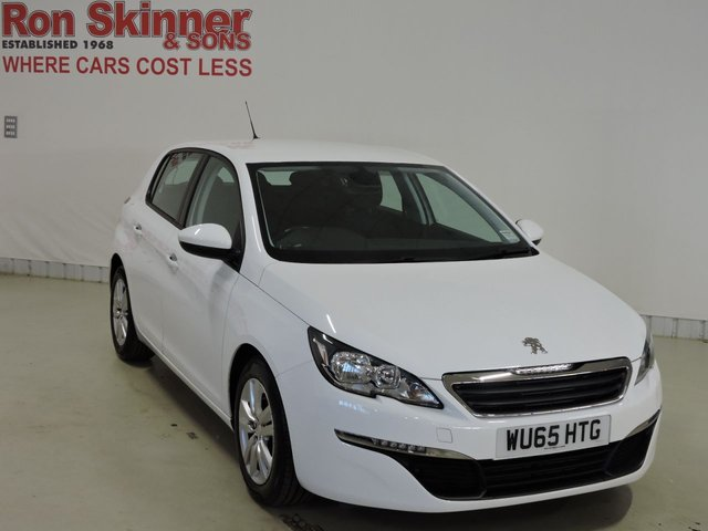 View our 2015 65 PEUGEOT 308 (105)  1.6 BLUE HDI S/S ACTIVE 5d 120 BHP