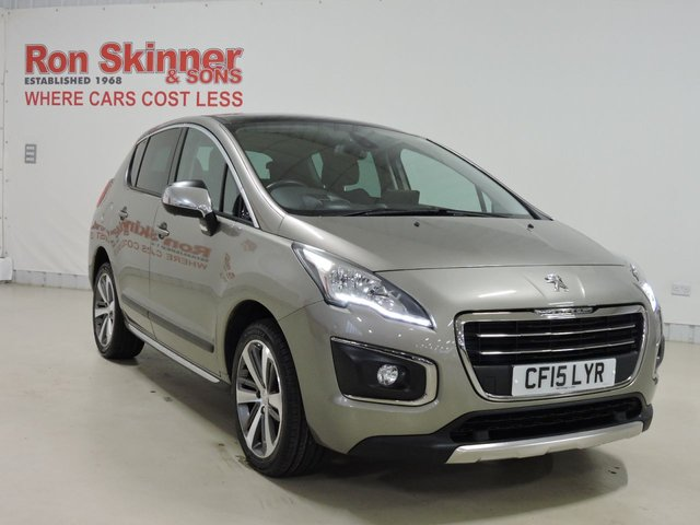 View our 2015 15 PEUGEOT 3008 (19)  1.6 BLUE HDI S/S ALLURE 5d 120 BHP