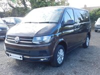 USED 2018 18 VOLKSWAGEN TRANSPORTER T30 TDI HIGHLINE SWB 150 DSG (AUTO) GEARBOX BLUEMOTION EURO 6 Sat Nav (Discovery Media), Captain Seats, Heated Rear Window and Wash Wipe, Rear Parking Camera, Power Latch to Side Door, Heated Washer Nozzles & Washer Level.