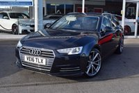 USED 2016 16 AUDI A4 2.0 AVANT TDI ULTRA SPORT 5d AUTO 148 BHP FINANCE TODAY WITH NO DEPOSIT
