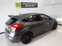 USED 2016 66 FORD FOCUS 2.3 RS 5d 346 BHP THIS CAR LOOKS AND DRIVES LIKE NEW, WITH FULL FORD SERVICE HISTORY 2 STAMPS ABSOLUTELY BEAUTIFUL CONDITION,Includes £2625 of options, £812 19-inch alloys WITH BLUE UPGRADED CALIPERS;  £833 Luxury pack which includes POWER FOLDING MIRRORS , REAR PARKING CAMERA, HALF LEATHER, 2 KEYS, PRIVACY GLASS, KEY LESS GO SYSTEM