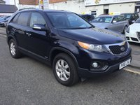 USED 2010 10 KIA SORENTO 2.2 CRDI KX-2 5d 195 BHP PLEASE CALL IF YOU DONT SEE WHAT YOUR LOOKING FOR AND WE WILL CHECK OUR OTHER BRANCHES.  WE HAVE  OVER 100 CARS IN DEALER STOCK