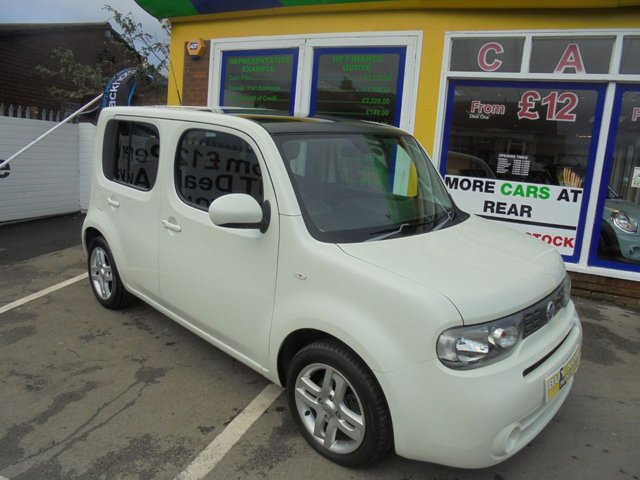 USED 2010 60 NISSAN CUBE 1.6 16V 5d 109 BHP £0 DEPOSIT FINANCE AVAILABLE....TEST DRIVE TODAY...CALL 01543 877320