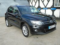 2013 VOLKSWAGEN TIGUAN 2.0 SE TDI BLUEMOTION TECHNOLOGY 5d 138 BHP £10678.00