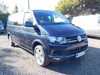 USED 2018 18 VOLKSWAGEN TRANSPORTER T32 TDI KOMBI HIGHLINE LWB 4MOTION DSG (AUTO) GEARBOX 204 BLUEMOTION EURO 6 Sat Nav (Discovery Media), Electric Folding Mirrors, App Connect, Cab Carpet, Comfort Dash, Front & Rear Parking Sensors, Rear Parking Camera, Heated front Seats, Power Latch to side Door and Tailgate.