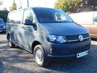 USED 2018 18 VOLKSWAGEN TRANSPORTER T28 TDI STARTLINE SWB 102 BLUEMOTION EURO 6 Cab Carpet, Air Con, Cruise, Heated Rear Window and Wash Wipe and Leather Steering Wheel.