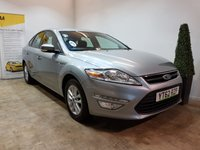 USED 2012 62 FORD MONDEO 2.0 ZETEC TDCI 5d 138 BHP FULL SERVICE HISTORY