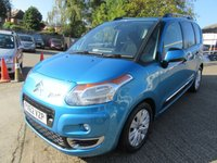 USED 2012 62 CITROEN C3 PICASSO 1.6 PICASSO EXCLUSIVE EGS 5d AUTO 120 BHP Very low miles Pristine condition Service history