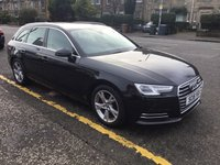 USED 2016 16 AUDI A4 2.0 AVANT TDI ULTRA SPORT 5d 148 BHP OUR  PRICE INCLUDES A 6 MONTH AA WARRANTY DEALER CARE EXTENDED GUARANTEE, 1 YEARS MOT AND A OIL & FILTERS SERVICE. 6 MONTHS FREE BREAKDOWN COVER.