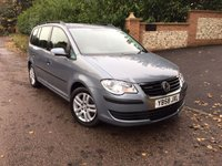 2009 VOLKSWAGEN TOURAN 1.9 S TDI BLUEMOTION 5d 103 BHP PLEASE CALL TO VIEW £4950.00