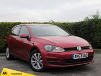 USED 2014 63 VOLKSWAGEN GOLF 2.0 SE TDI BLUEMOTION TECHNOLOGY DSG 5d AUTOMATIC ECONOMICAL 62.8 AVERAGE MPG & £30 ROAD TAX PER YEAR