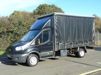 2015 FORD TRANSIT T350 2.2TDCI 153 BHP TWIN WHEEL 13FT 6IN CURTAINSIDER £9995.00