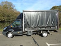 USED 2015 15 FORD TRANSIT T350 2.2TDCI 153 BHP TWIN WHEEL 13FT 6IN CURTAINSIDER +1 OWNER+ 155BHP+