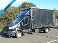 2015 FORD TRANSIT T350 2.2TDCI 153 BHP TWIN WHEEL 13FT 6IN CURTAINSIDER £9750.00