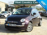 USED 2014 64 FIAT 500 1.2 CULT 3d 69 BHP Excellent Specification