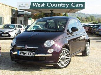 2014 FIAT 500 1.2 CULT 3d 69 BHP £6800.00