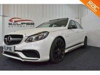 2013 MERCEDES-BENZ E CLASS 5.5 E63 AMG 4d AUTO 550 BHP £27995.00