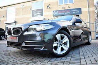 2013 BMW 5 SERIES 520D SE AUTOMATIC £14495.00