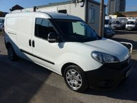 2015 FIAT DOBLO 1.6 16V MULTIJET LWB, 105 BHP, AIR CONDITIONING  £5995.00
