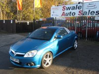 USED 2007 07 VAUXHALL TIGRA 1.4 EXCLUSIV 16V 2d 90 BHP FINANCE AVAILABLE FROM £23 PER WEEK OVER TWO YEARS - SEE FINANCE LINK