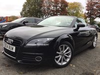 USED 2014 14 AUDI TT Roadster 1.8 TFSI SPORT 2d 158BHP 1FORMER KEEPER+HALF LEATHER+