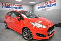 2015 FORD FIESTA 1.0 ZETEC S 3d 124 BHP RED -FREE TAX £7499.00