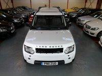 2011 LAND ROVER DISCOVERY 4 3.0 SDV6 LANDMARK LE 5d AUTO 245 BHP £17500.00