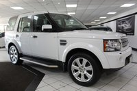 2013 LAND ROVER DISCOVERY 4 3.0 SDV6 HSE AUTO 255 BHP £25950.00