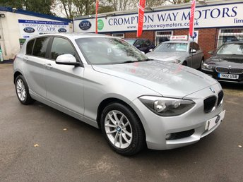 2013 BMW 1 SERIES 2.0 116D SE 5d 114 BHP £9300.00