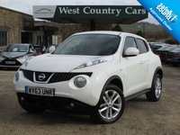 USED 2013 63 NISSAN JUKE 1.5 ACENTA PREMIUM DCI 5d 109 BHP Locally Owned Juke With Full Service History