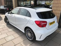 2015 MERCEDES-BENZ A CLASS 1.5 A180 CDI BLUEEFFICIENCY AMG SPORT 5d AUTO 109 BHP £16495.00