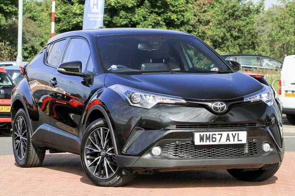 View our 2018 67 TOYOTA CHR 1.2 T (115bhp) Excel Crossover 5-Dr 5dr