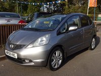 2009 HONDA JAZZ 1.3 I-VTEC EX 5dr, Full Main Dealer History £4290.00