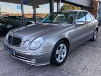 USED 2004 04 MERCEDES-BENZ E CLASS 2.7 E270 CDI AVANTGARDE 4d AUTO 177 BHP Full Mercedes Service History, F&R Parking sensors, 2 keys, Half Leather