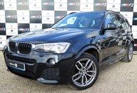 USED 2014 14 BMW X3 2.0 XDRIVE20D M SPORT 5d AUTO 188 BHP