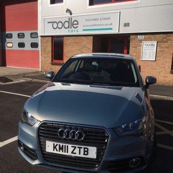 2011 AUDI A1 1.6 TDI SPORT 3d 103 BHP £6450.00