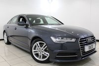 USED 2015 65 AUDI A6 3.0 TDI QUATTRO S LINE 4DR AUTOMATIC 215 BHP Sat Nav 1 Owner Full Service History FULL AUDI SERVICE HISTORY + LEATHER SEATS + SATELLITE NAVIGATION + PARKING SENSOR + BLUETOOTH + CRUISE CONTROL + CLIMATE CONTROL + 18 INCH ALLOY WHEELS