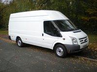 2011 FORD TRANSIT 2.4 350 TREND EL H/R 1d 115 BHP JUMBO £7795.00