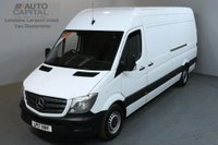 USED 2017 17 MERCEDES-BENZ SPRINTER 2.1 314CDI 140 BHP LWB H/ROOF EURO 6 PANEL VAN EURO 6 ENGINE FULL S/H