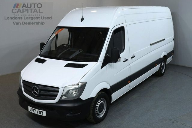 2017 17 MERCEDES-BENZ SPRINTER 2.1 314CDI 140 BHP LWB H/ROOF EURO 6 PANEL VAN EURO 6 ENGINE FULL S/H