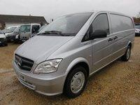 2013 MERCEDES-BENZ VITO 2.1 116 CDI BLUEEFFICIENCY AUTO 163 BHP 69879 MILES £11495.00
