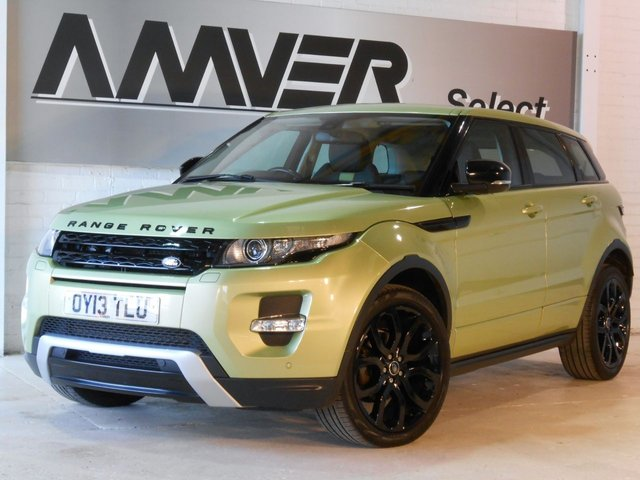 2013 13 LAND ROVER RANGE ROVER EVOQUE 2.2 SD4 DYNAMIC 5d 190 BHP