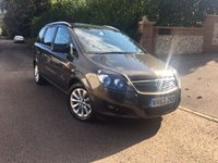 2013 VAUXHALL ZAFIRA 1.7 DESIGN NAV CDTI ECOFLEX 5d 108 BHP PLEASE CALL TO VIEW £7450.00